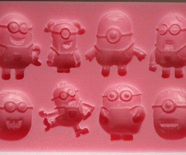 minions candy mold front