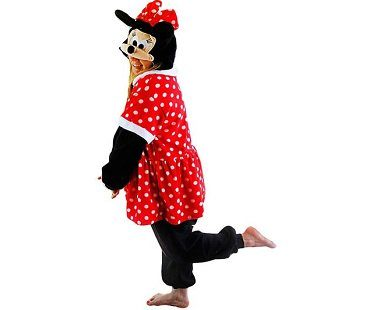 minnie mouse onesie side