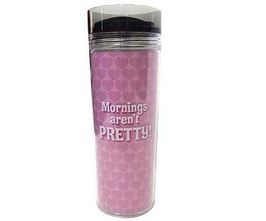 minnie mouse travel mug mornings arent pretty