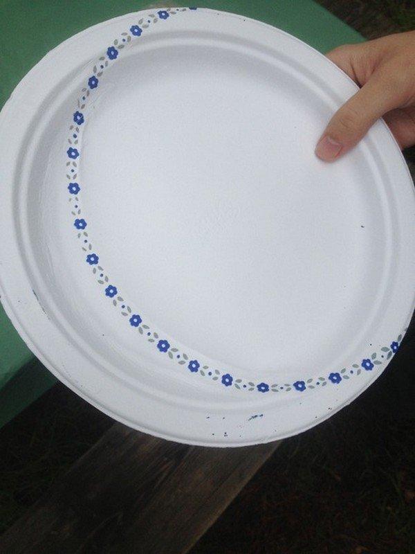 misprinted plate