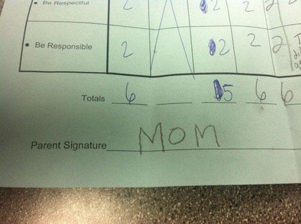 mom signature