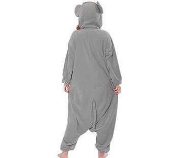 mouse onesie back