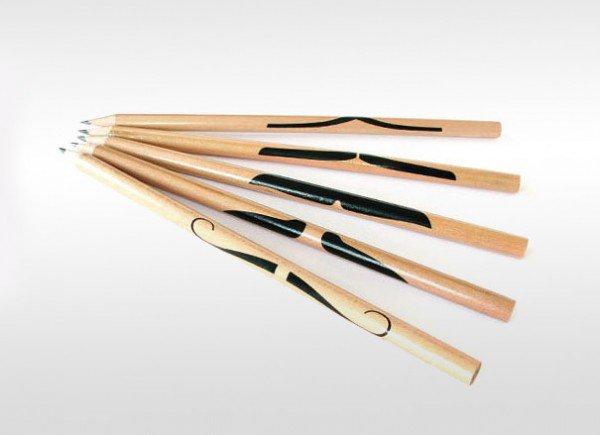 mustache-pencils