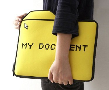 my documents laptop case