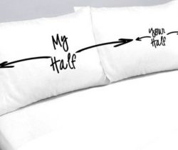 my half your half pillowcases