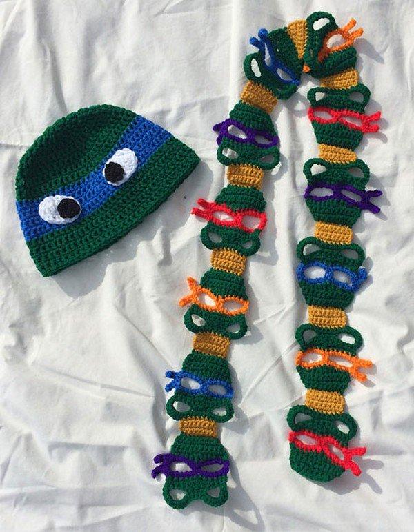 ninja turtles scarf