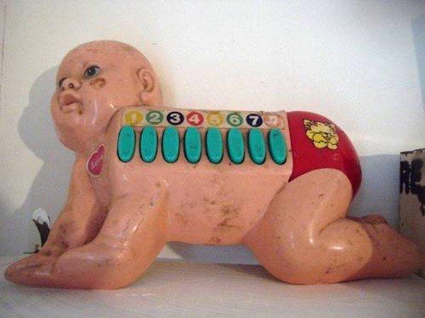 numbered weird doll