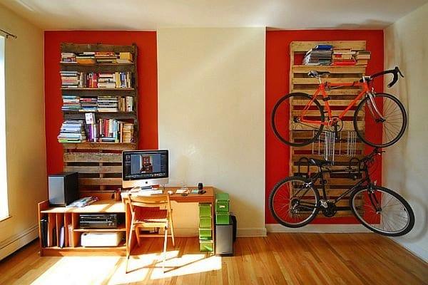 pallet-bookshelf-bikerack