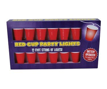 party cup string lights box