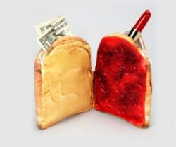 peanut butter and jelly purse