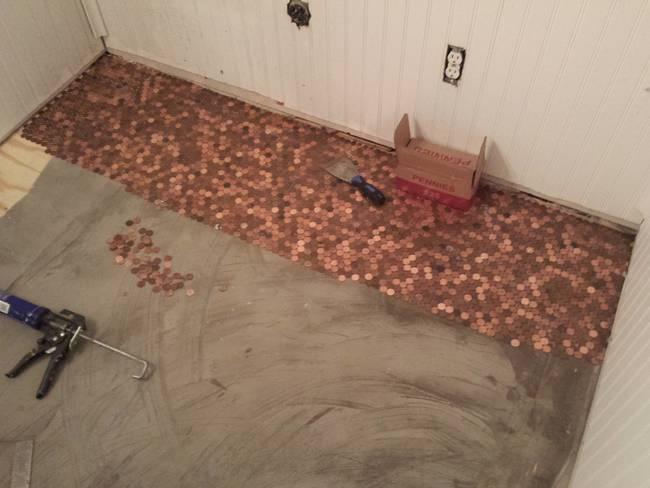 penny floor beginning