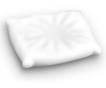 pillow spoon rest white