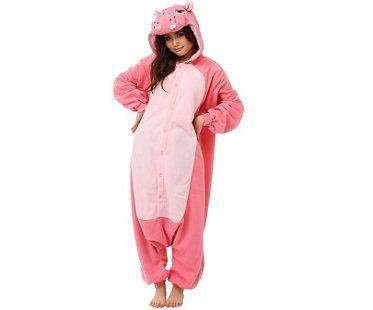 pink hippo onesie