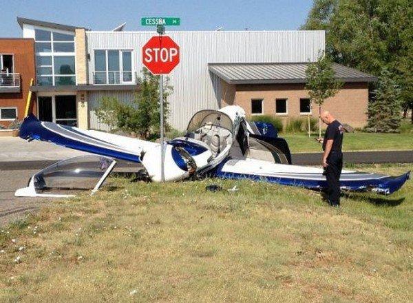 plane crash stop
