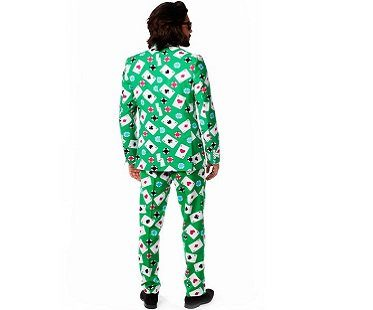 playing cards suit back