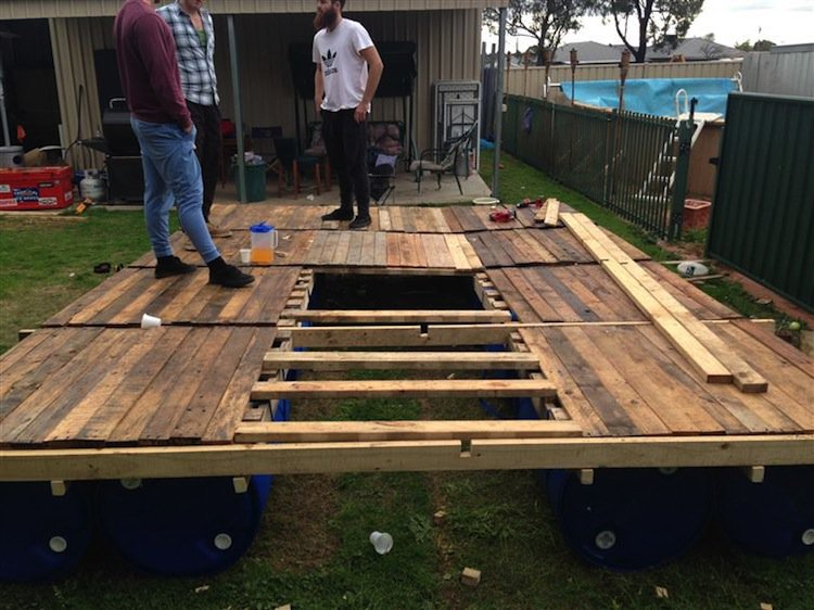 This Pontoon Project Is A Dream For Any Diy Fan
