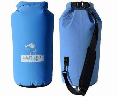 portable backpack cooler front back