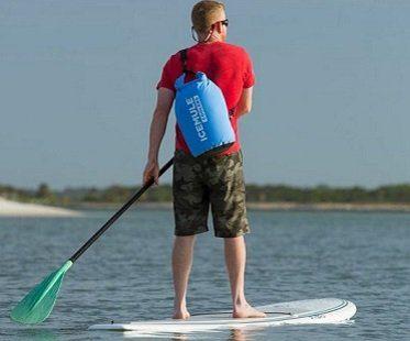 portable backpack cooler paddleboard