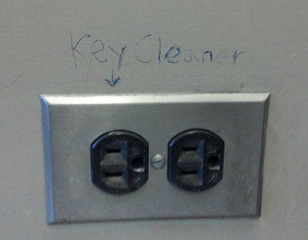 power points key cleaner