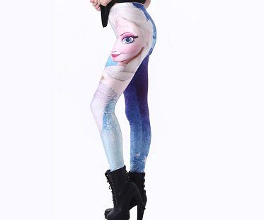 queen elsa leggings