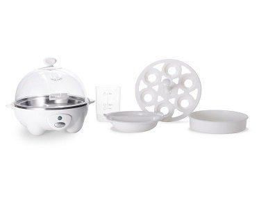 quick egg cooker white