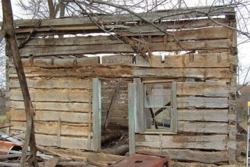rebuilt rotten cabin