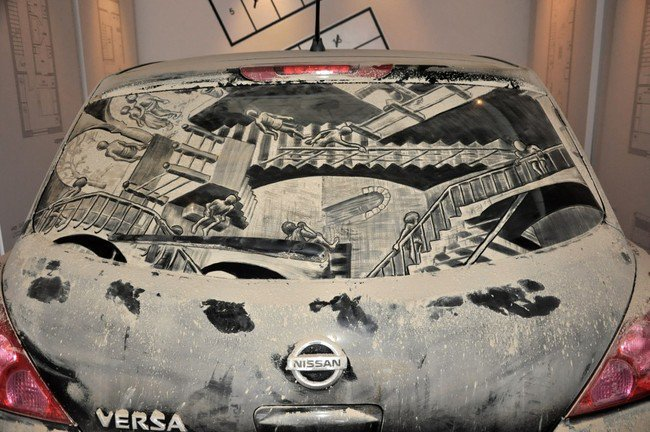 relativity car art