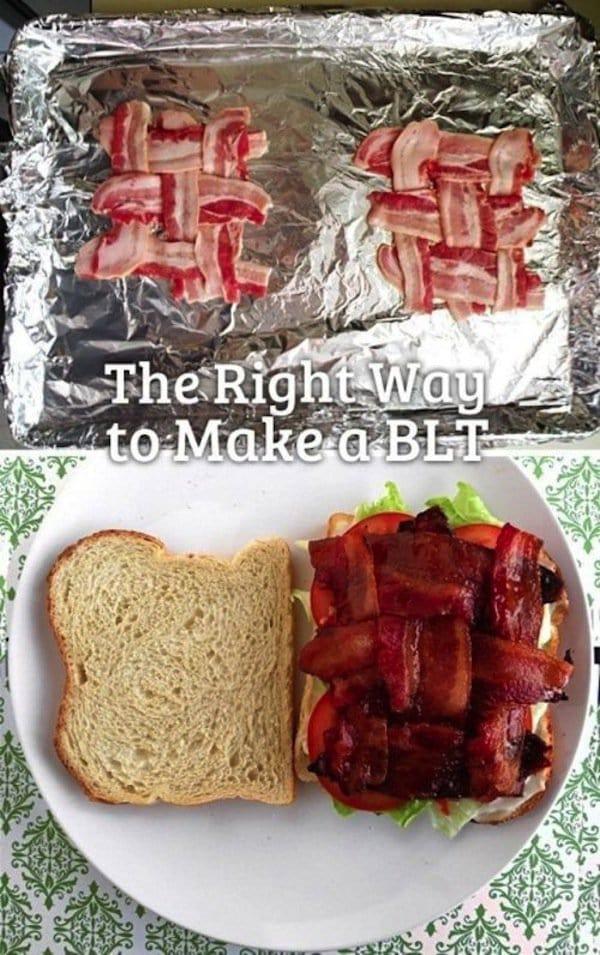 sandwich-weave