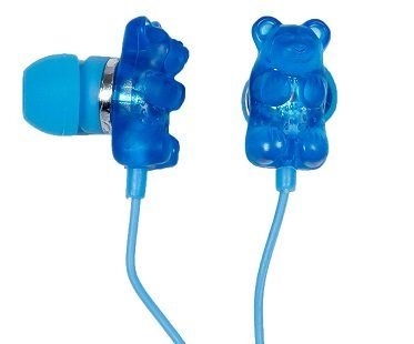 scented gummy bear earphones