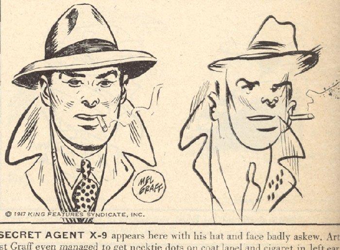 secret agent x9