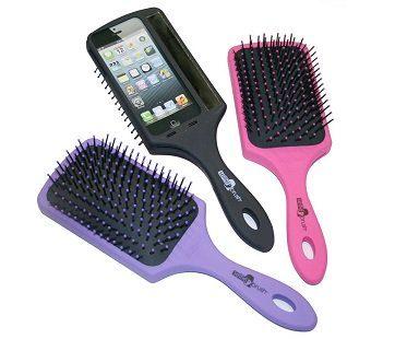 selfie hairbrush colours