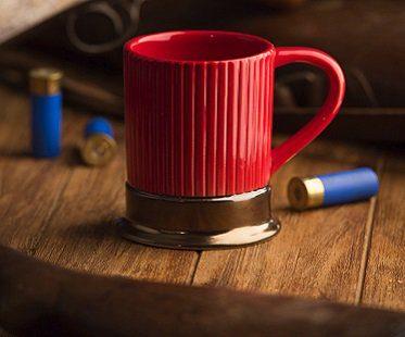 shotgun shell mug