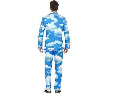 sky suit back