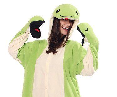 snake onesie hood