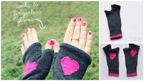 10 creative things you can do with your old socks for Crafts you can make with household items