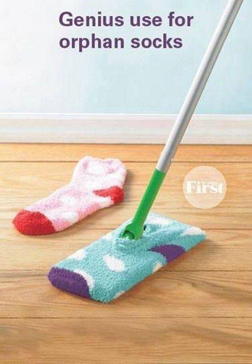 sock mop