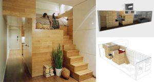 space saving apartment