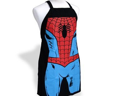 spiderman apron side