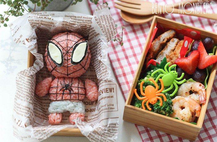 spiderman bento