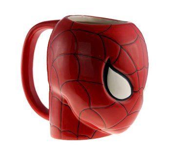 spiderman mug side
