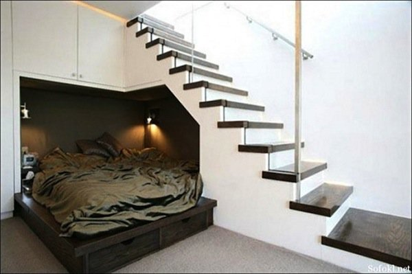 stairs-bed