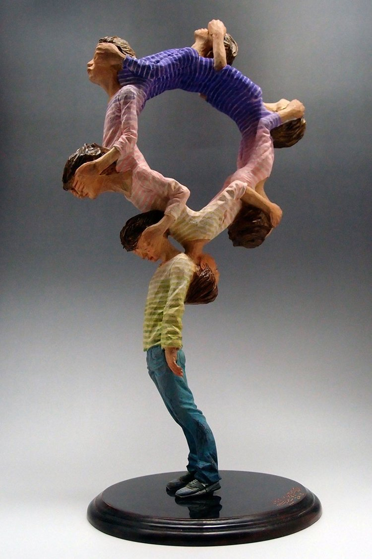 surreal-wooden-sculpture-art-yoshitoshi-kanemaki-circle