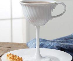 tall tea cup