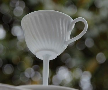 tall tea cup high