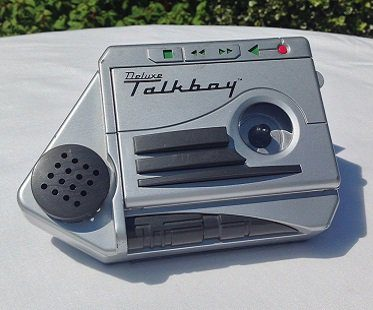 tape recorder home alone