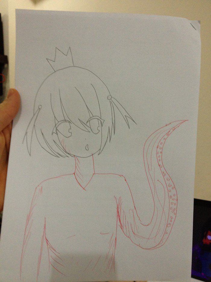 tentacle princess