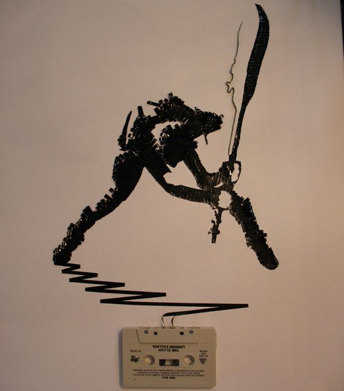 the clash tape pic