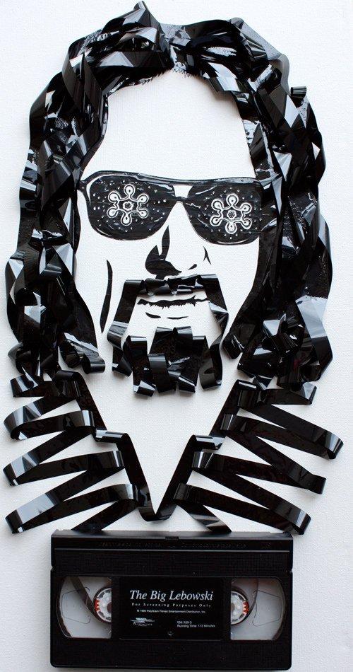 the dude lebowski tape pic