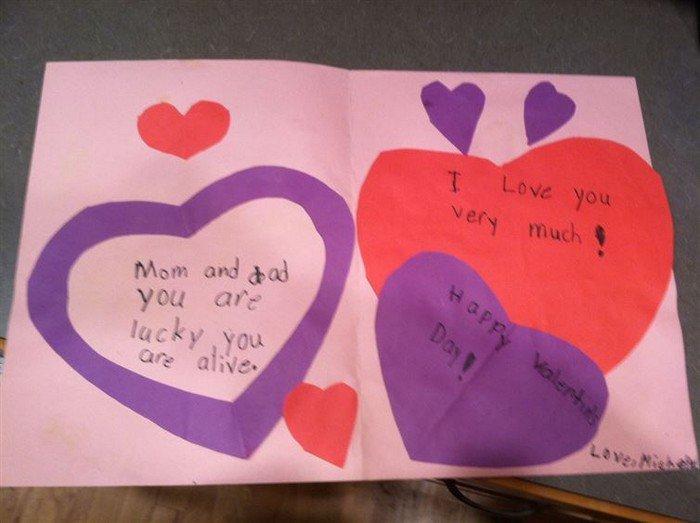 threatening valentine