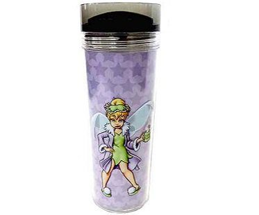 tinkerbell travel mug mornings arent magical front